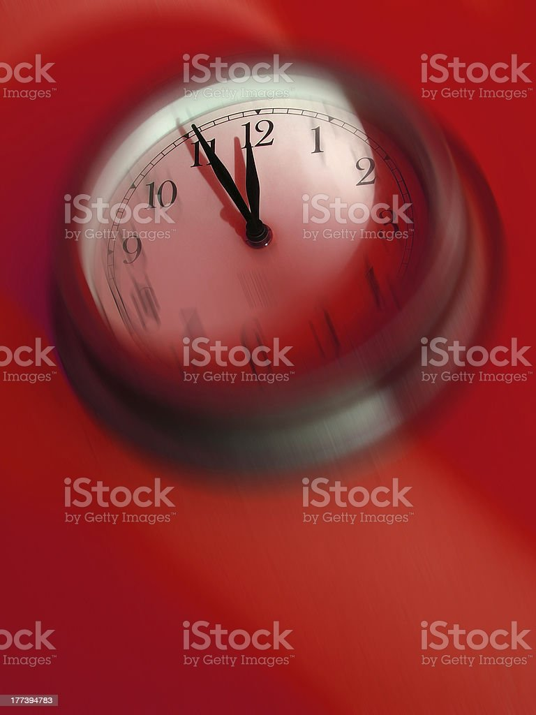 It's time! stock photo