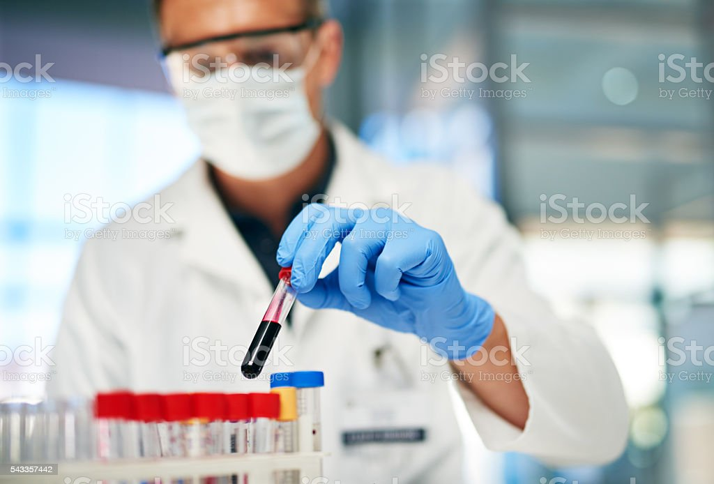 It's time to test this sample stock photo