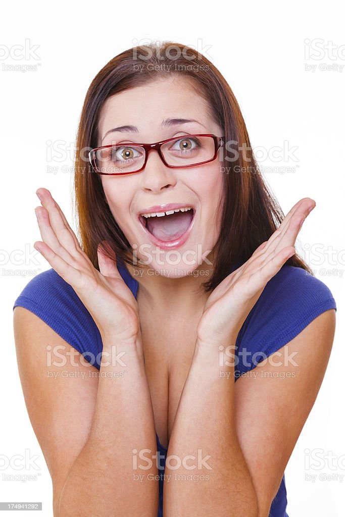 It's totally terrifying! royalty-free stock photo