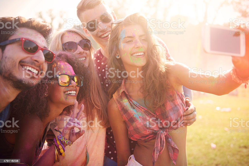 It's worth to stop this moment stock photo