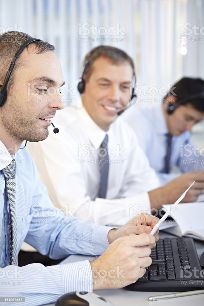 IT-support royalty-free stock photo