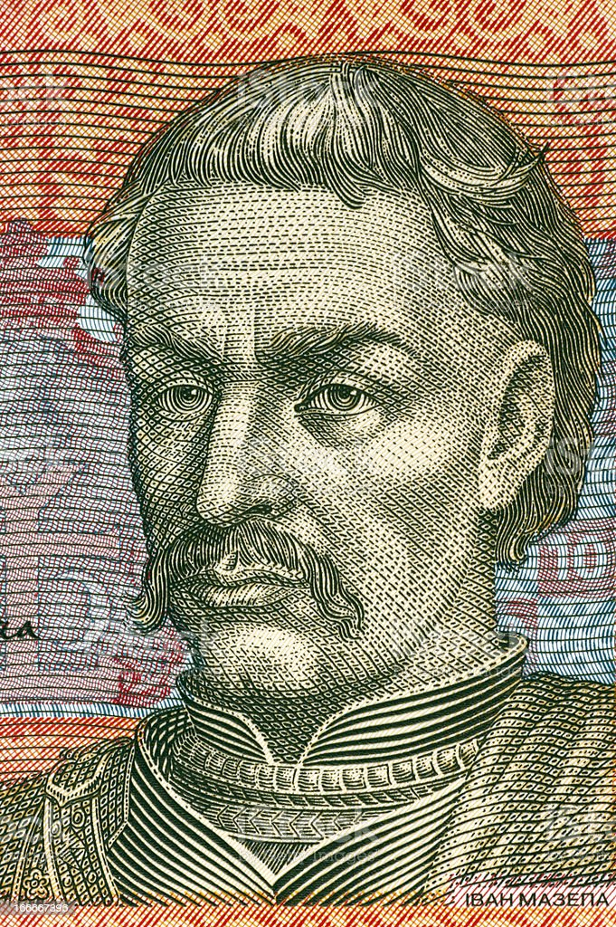 Ivan Mazepa royalty-free stock photo
