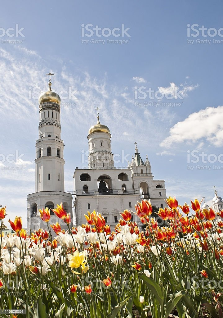 Ivan the Great Bell Tower, Moscow royalty-free stock photo