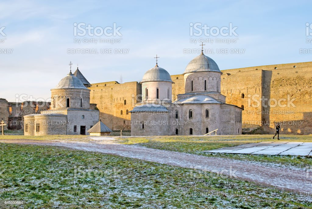 Ivangorod. Russia. stock photo