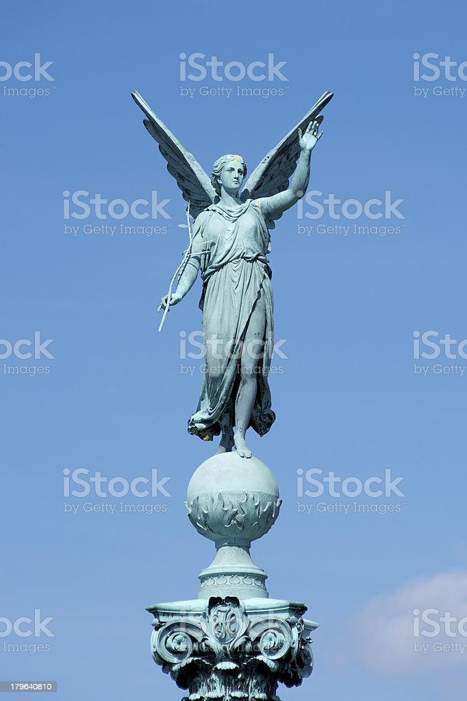 Ivar Huitfeldt Column, Copenhagen royalty-free stock photo