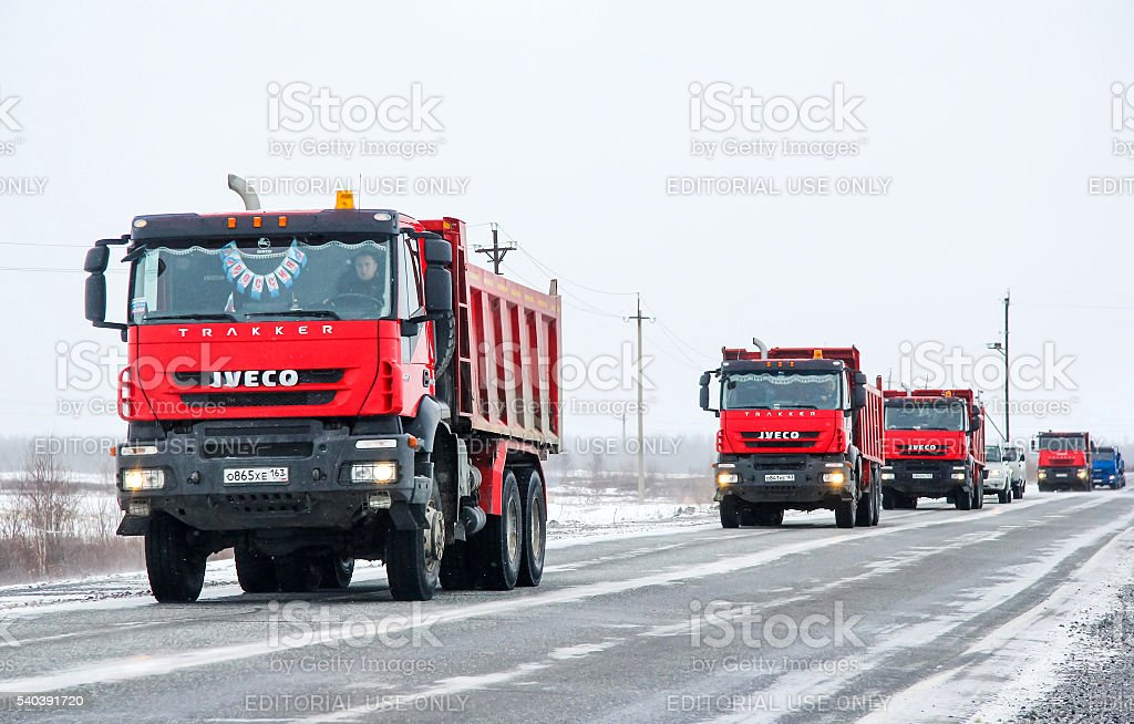 Iveco AMT Trakker stock photo