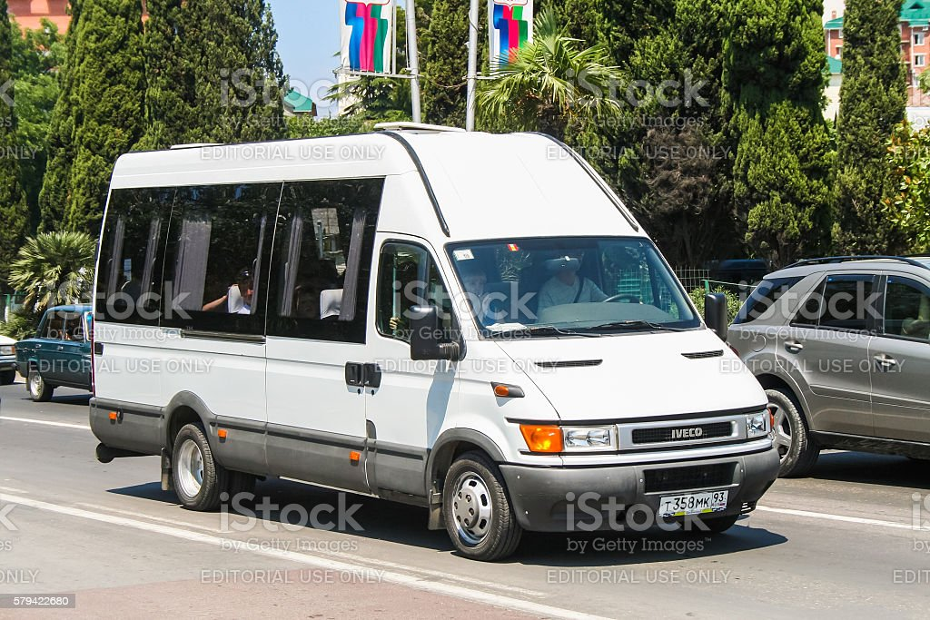 Iveco Daily stock photo