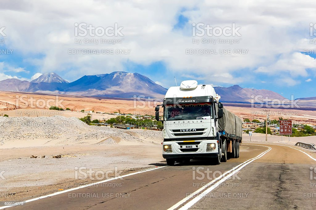 Iveco Stralis AT stock photo