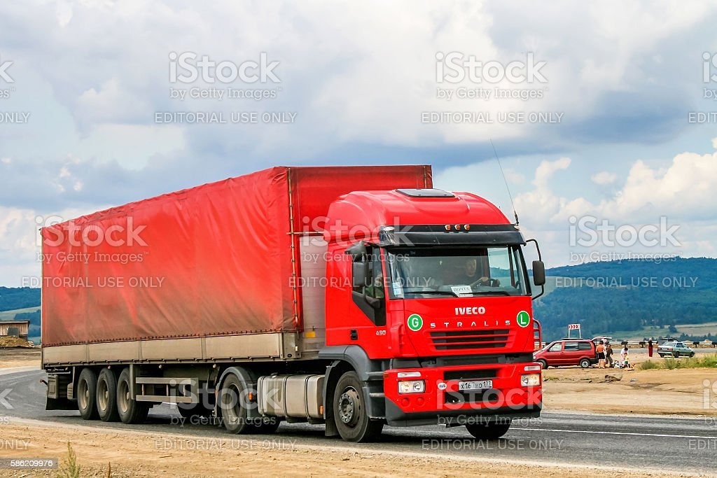 Iveco Stralis AT430 stock photo