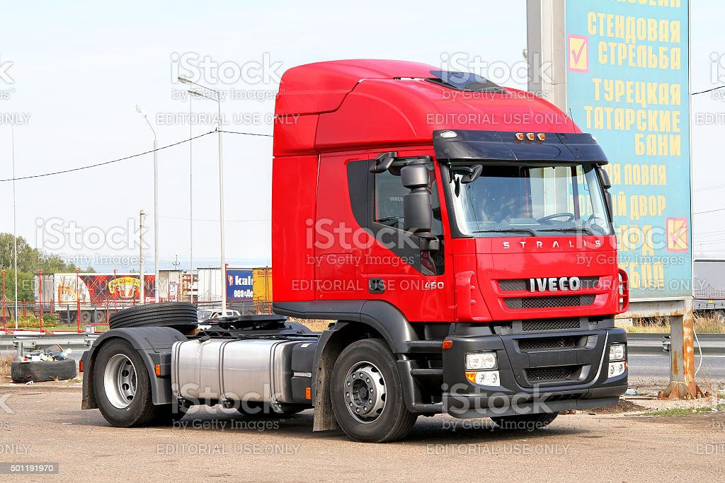 Iveco Stralis AT450 stock photo