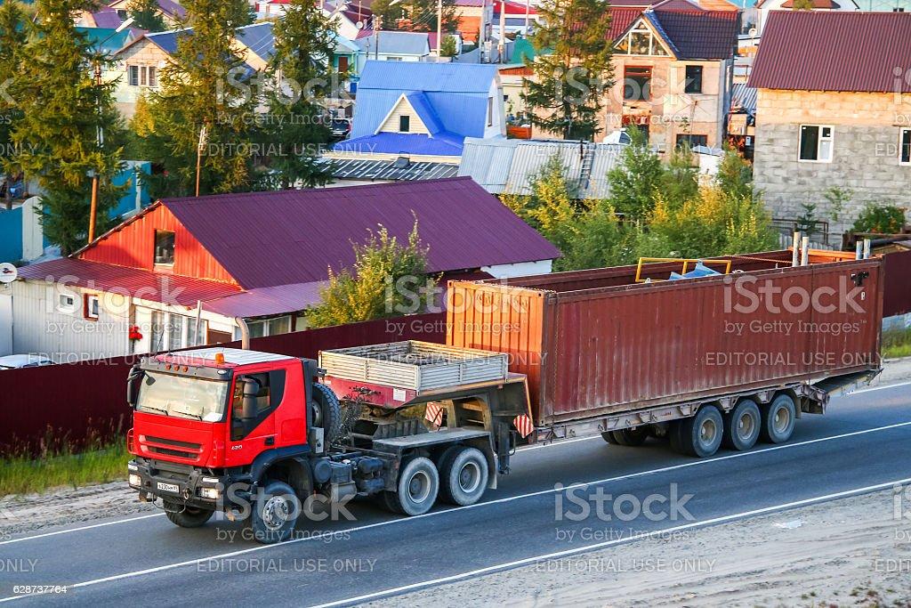 Iveco Trakker stock photo