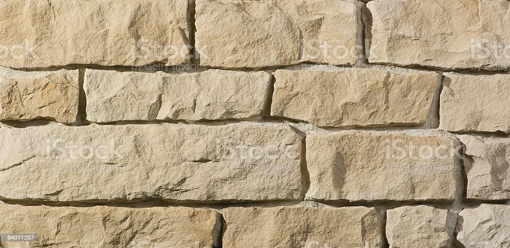 ivory colored natural stones stock photo