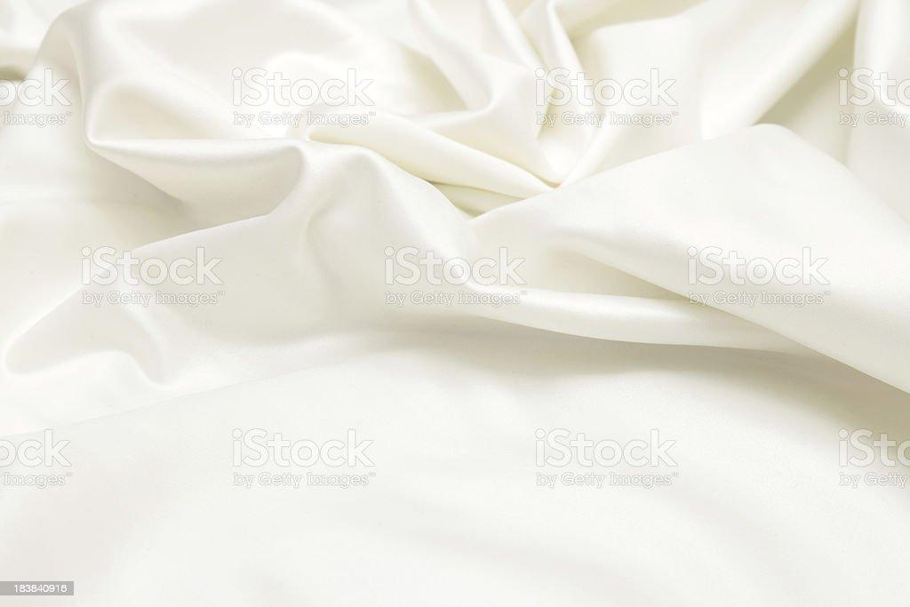 Ivory satin background stock photo