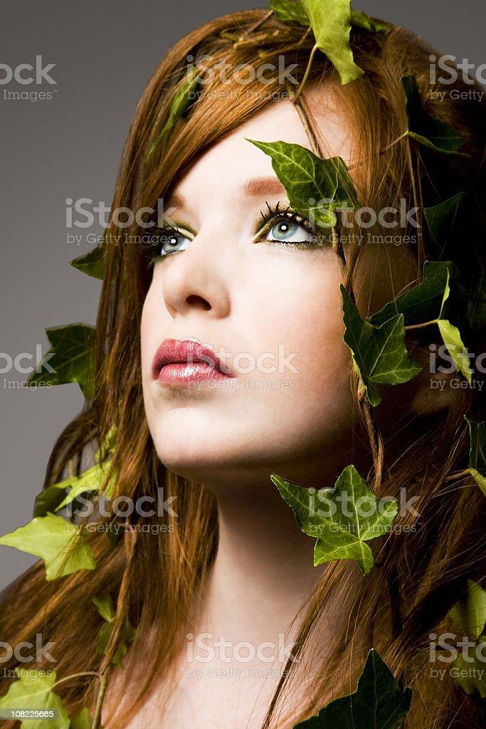 Ivy beauty royalty-free stock photo