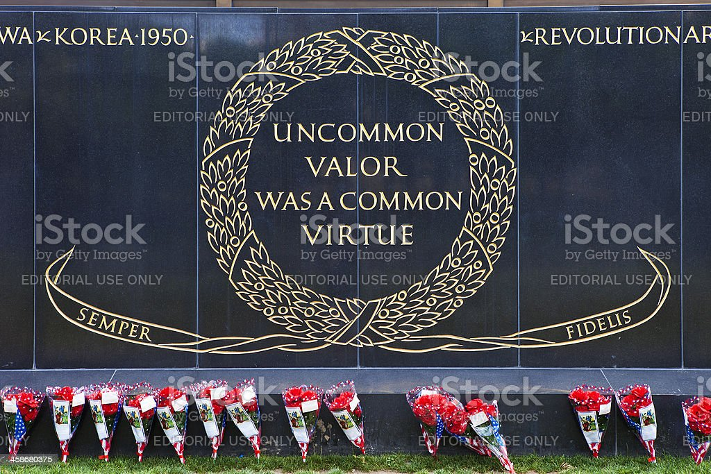 Iwo Jima Memorial stock photo