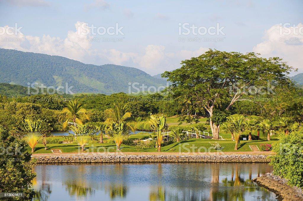 Ixtapa Golf Course stock photo