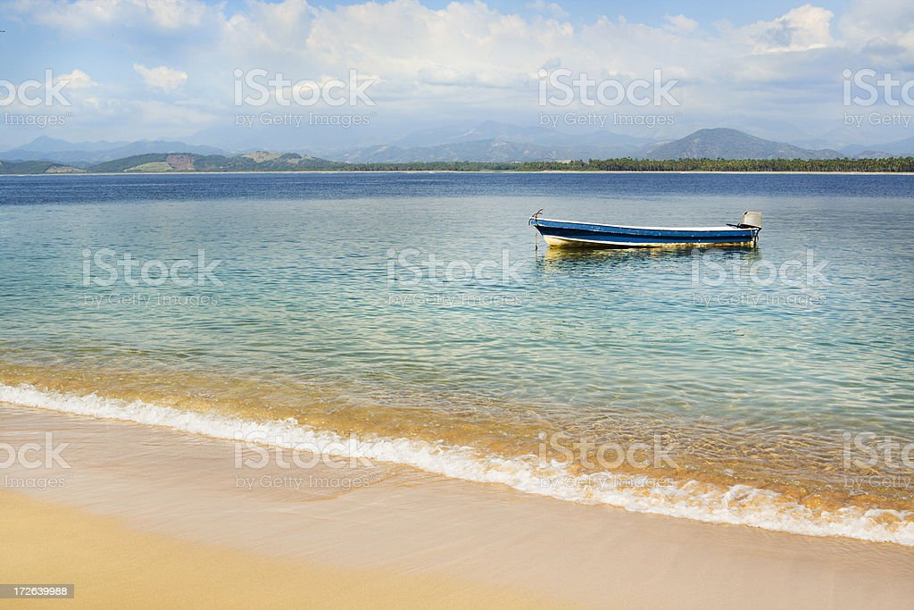 Ixtapa Island Fishing Boat royalty-free stock photo