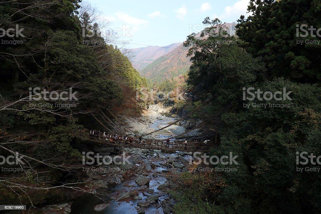 Iya bridge stock photo