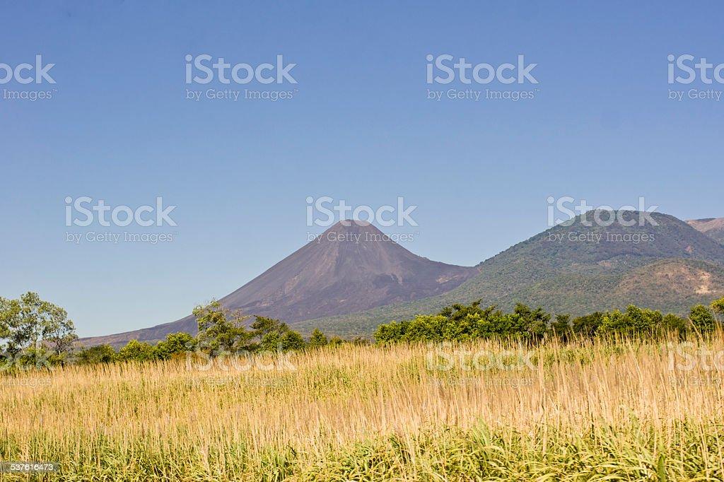 Volc?n de Izalco stock photo