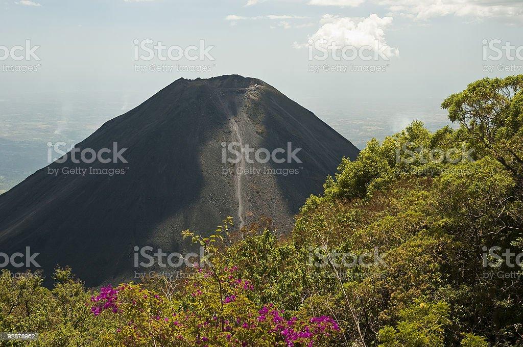 Izalco Volcano stock photo