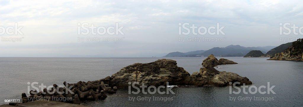 Izu coast - panorama royalty-free stock photo