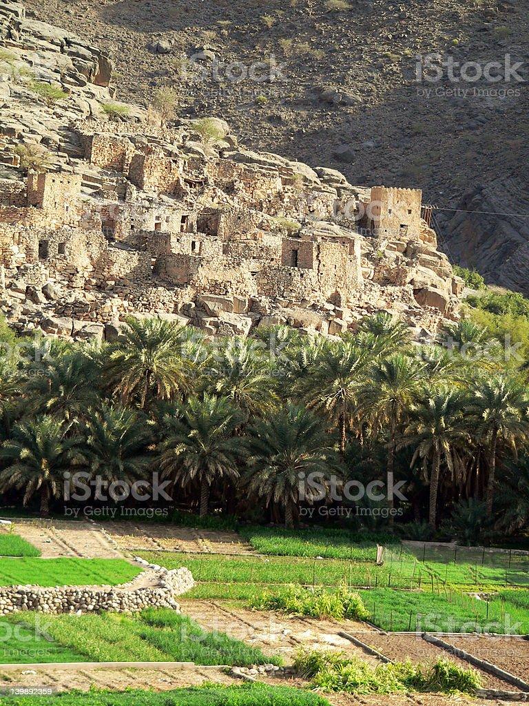 Jabal Shams royalty-free stock photo