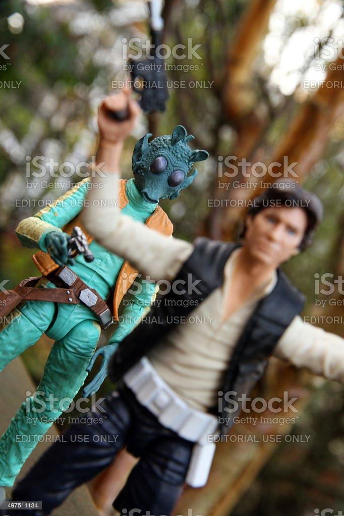 Jabba's Minion stock photo