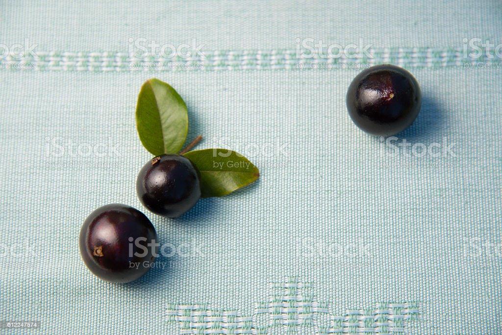 Jabuticaba - Brazilian Tropical fruit stock photo