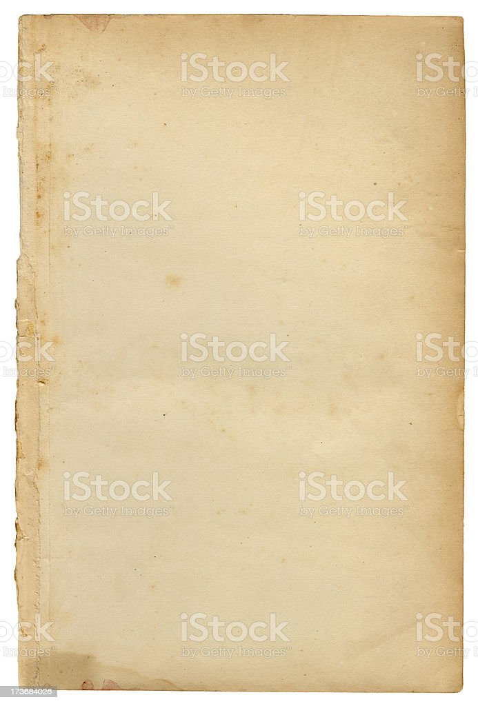 Jachal Isolated Paper royalty-free stock photo