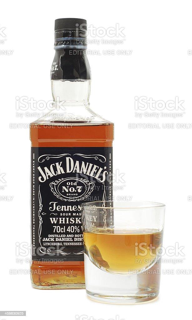 Jack Daniel's royalty-free stock photo