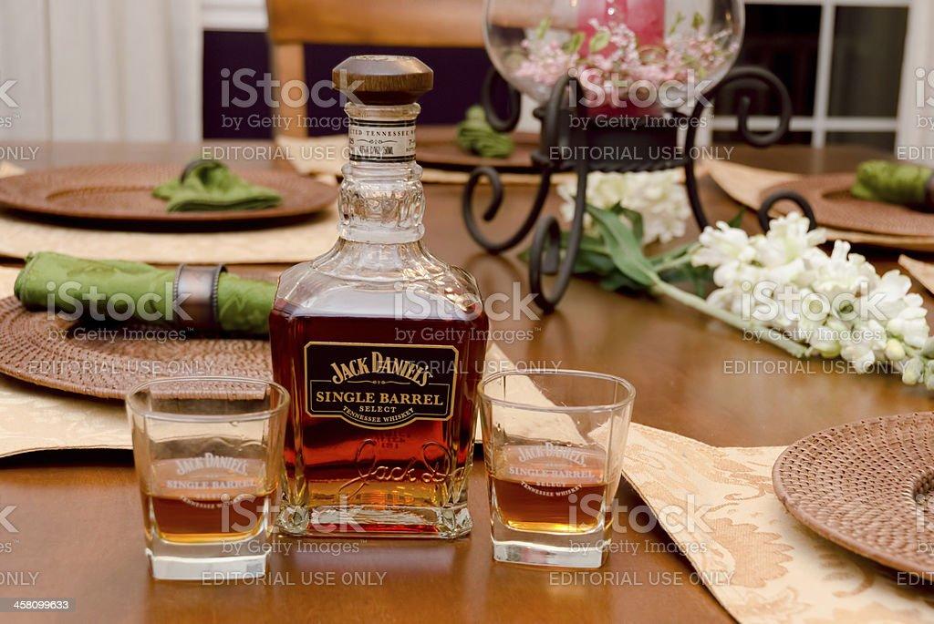 Jack Daniels Single Barrel royalty-free stock photo