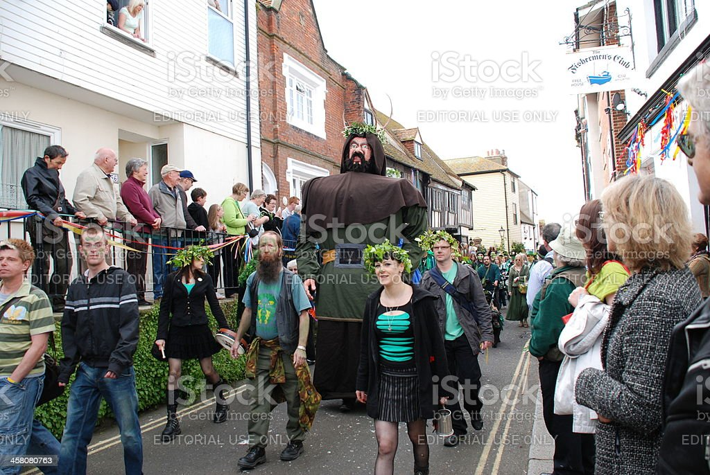 Jack In The Green festival, Hastings stock photo
