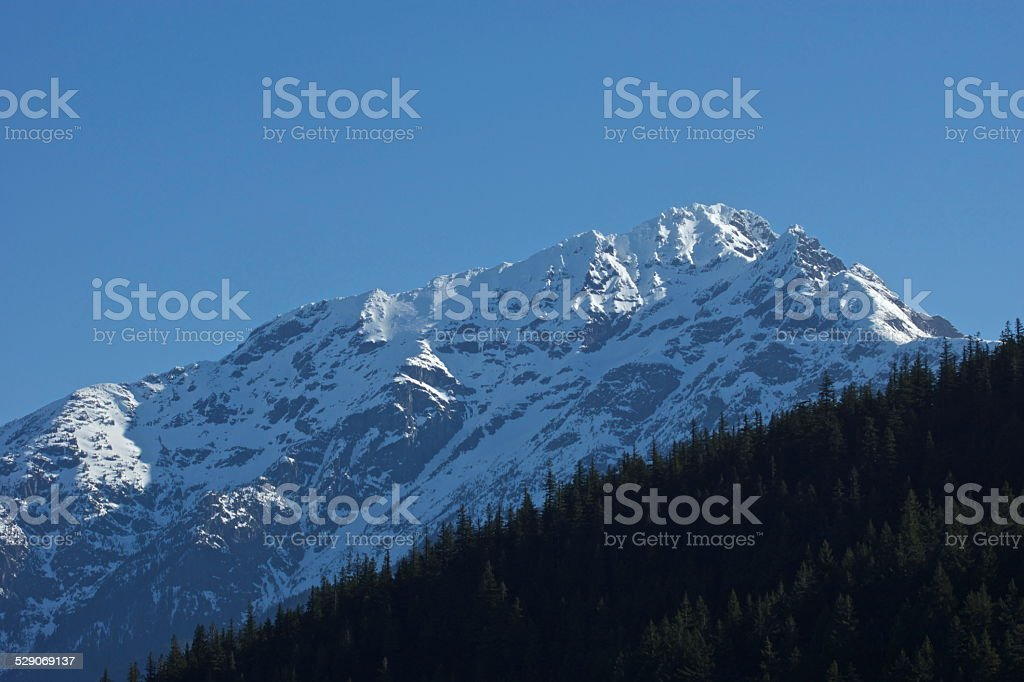 Jack Mountain Blue Ice stock photo