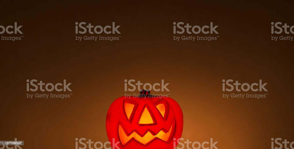 Jack o' lantern background - halloween royalty-free stock photo