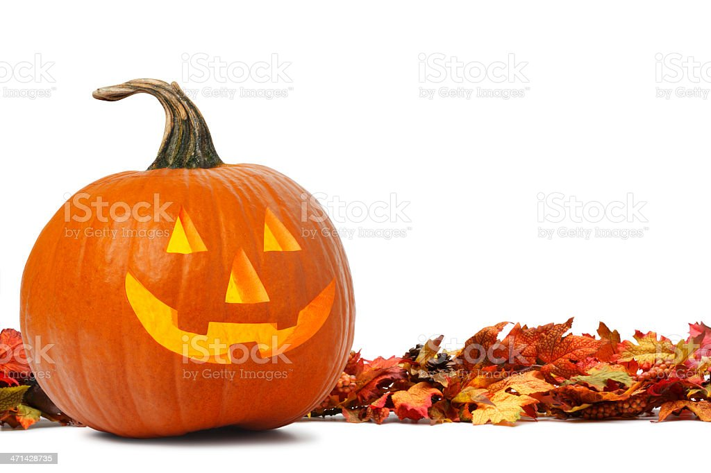 Jack O' Lantern royalty-free stock photo