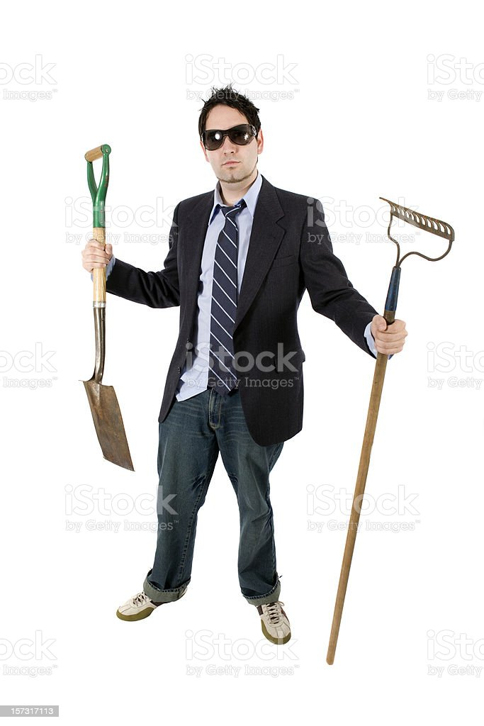 Jack of all Trades royalty-free stock photo
