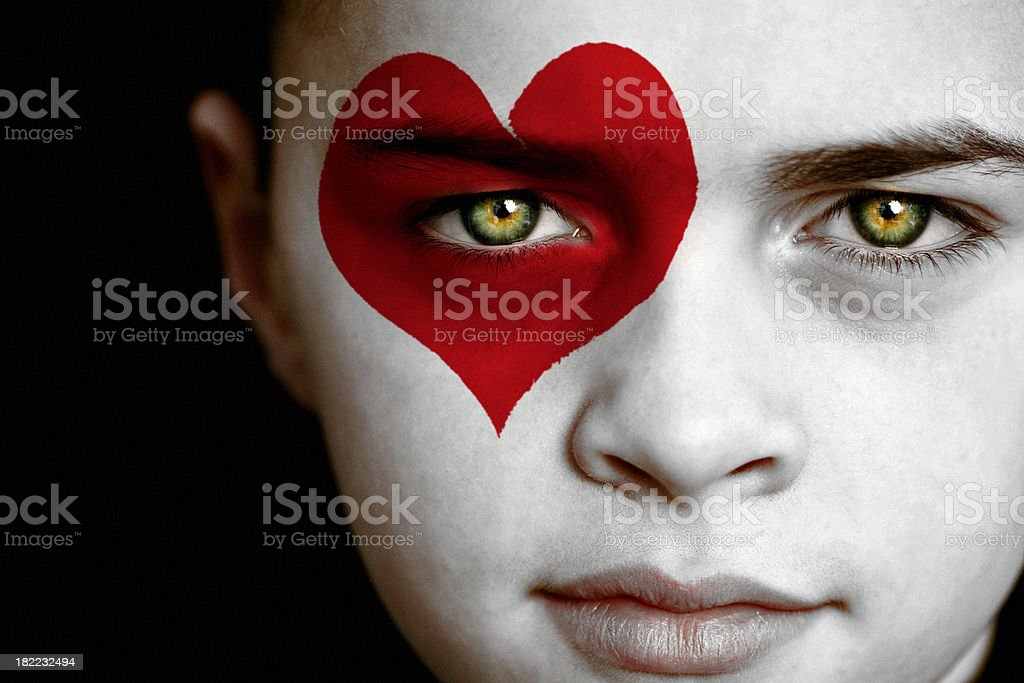 Jack of Hearts royalty-free stock photo