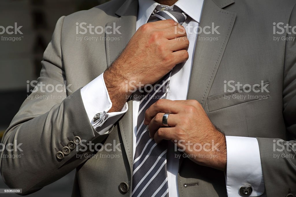 Jacket and Necktie royalty-free stock photo