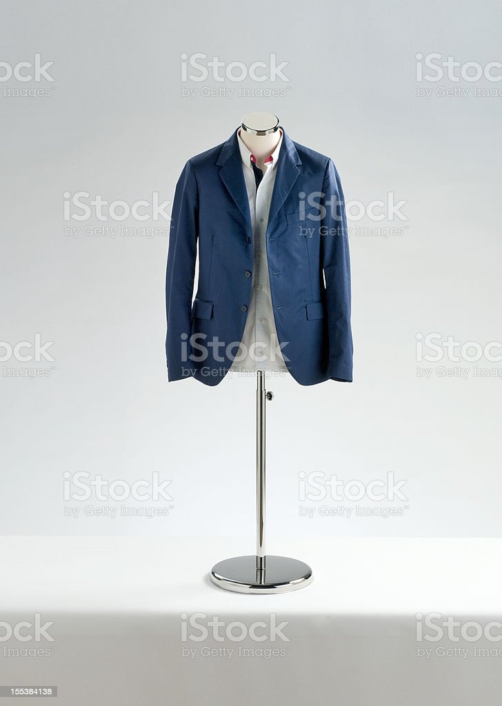 jacket and shirt on mannequin royalty-free stock photo