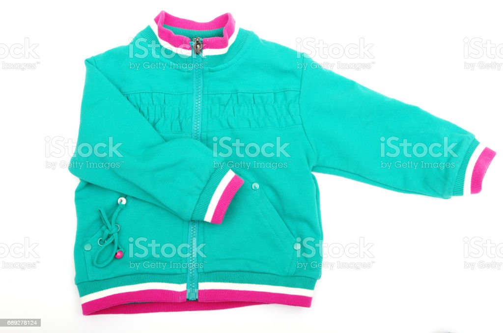 jacket for the baby stock photo