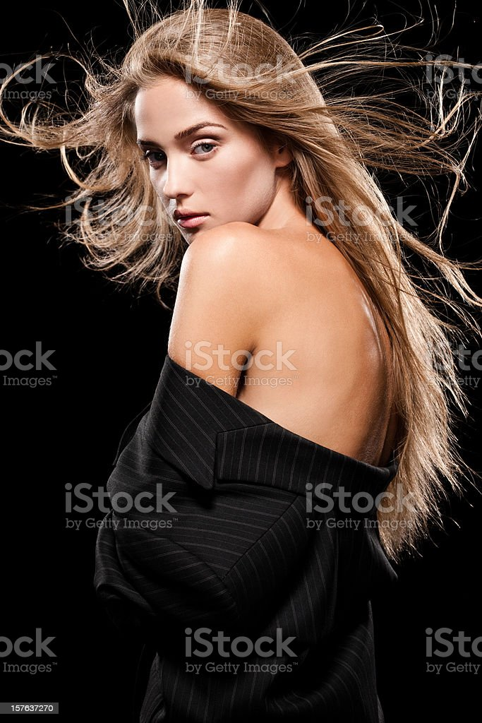 Jacket off royalty-free stock photo