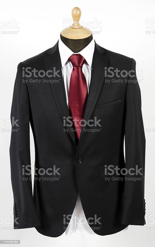 Jacket on dressmaker's model royalty-free stock photo
