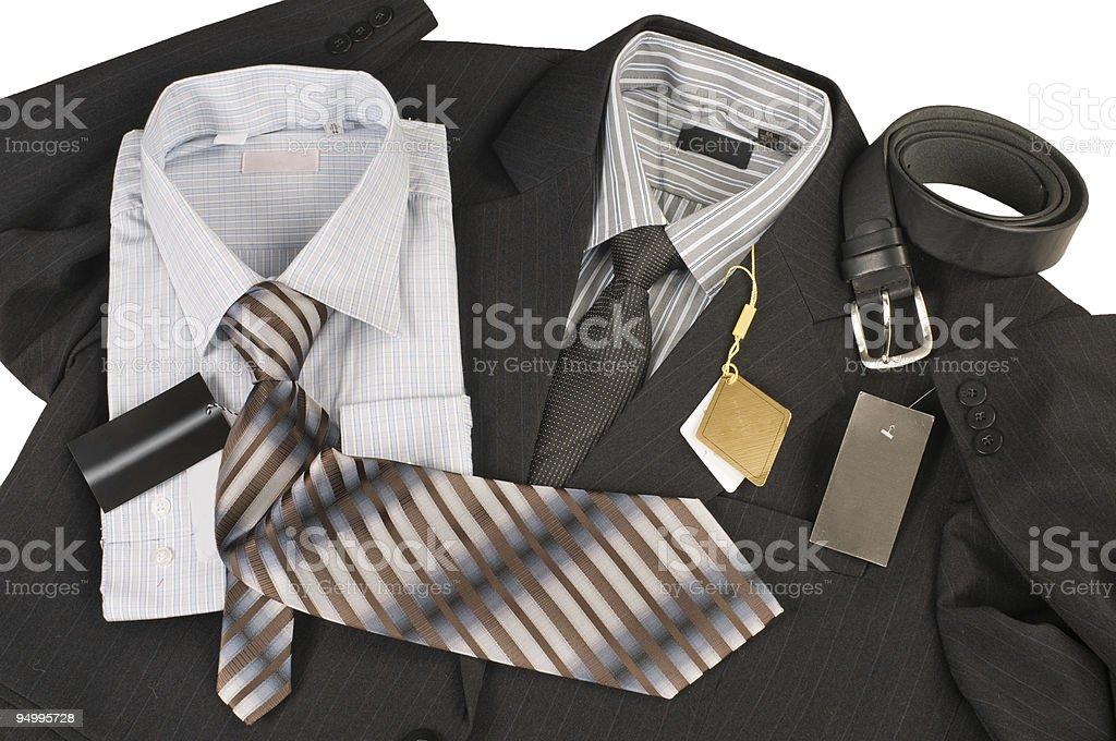 Jacket, shirt, tie. royalty-free stock photo