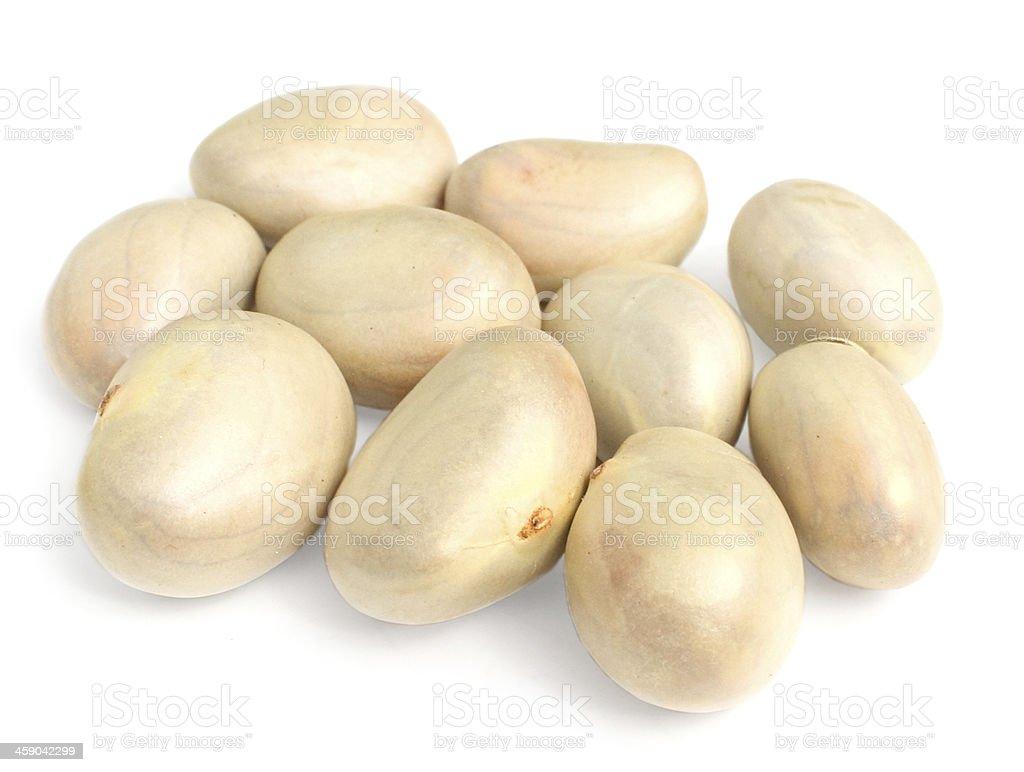 Jackfruit seeds royalty-free stock photo