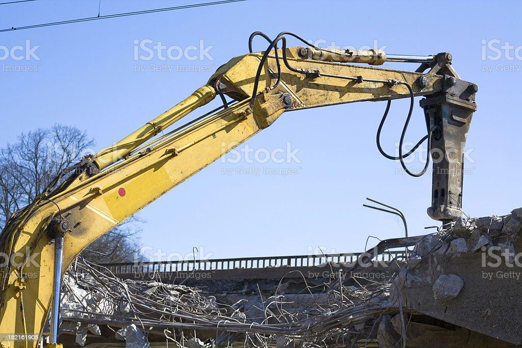 Jackhammer stock photo
