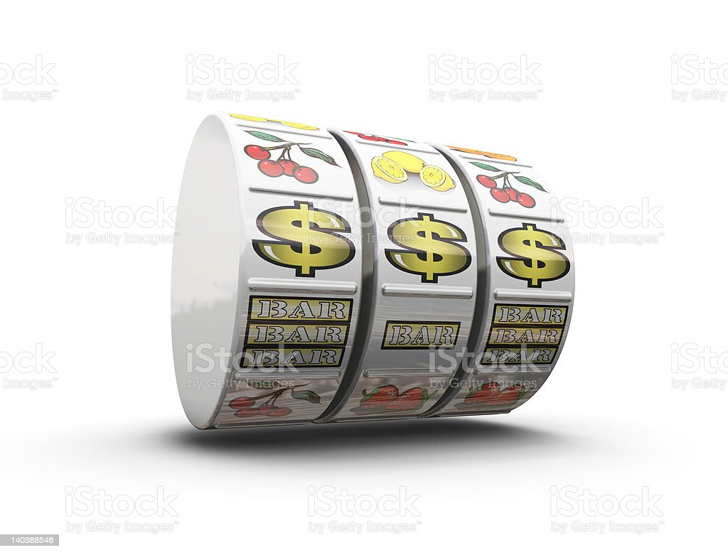 Jackpot royalty-free stock photo