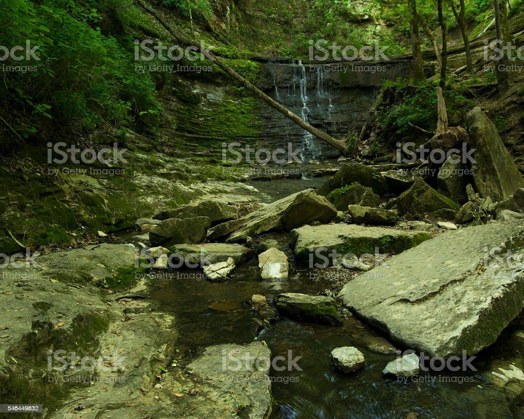 Jackson Falls stock photo