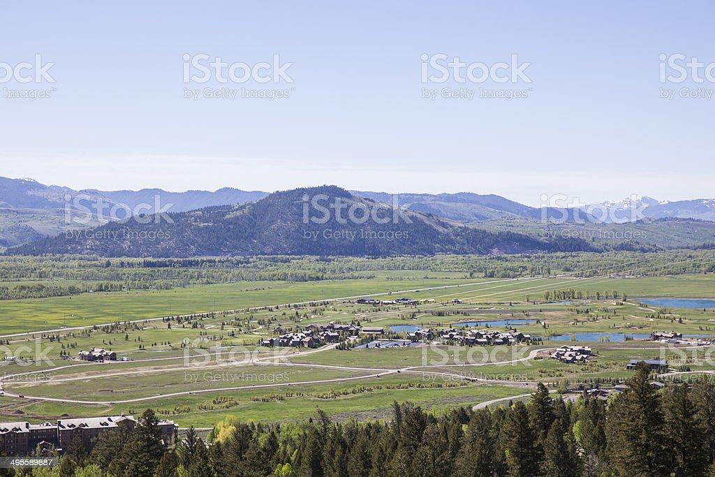 Jackson Hole stock photo