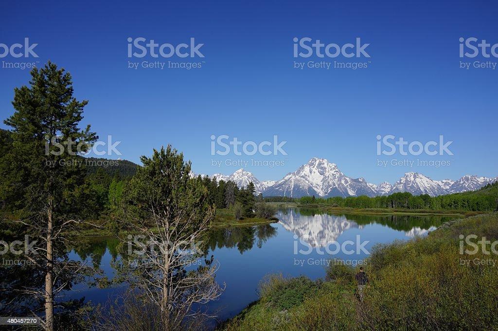 Jackson Hole, Wyoming stock photo