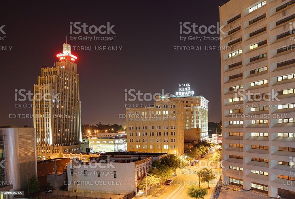 Jackson, Mississippi royalty-free stock photo